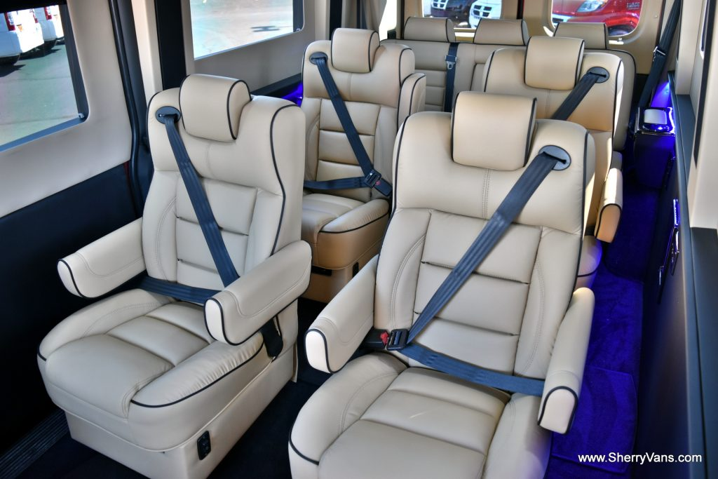 d9ccb26985 Sherry RAM 9 Passenger Van rear seats 2. Sherry ...
